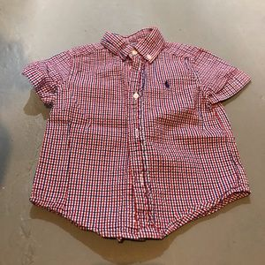 Polo Toddler Boys Button Down Short Sleeve
